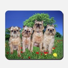 Brussels Griffon Sharon's Gang Mousepad