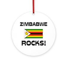 Zimbabwe Rocks! Ornament (Round)