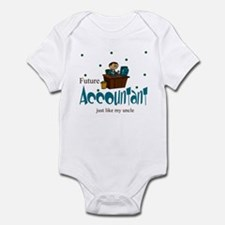 Future Accountant Like Uncle Baby Infant Bodysuit