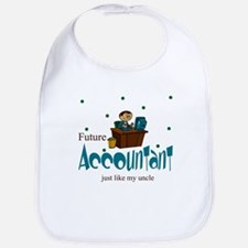 Future Accountant Like Uncle Baby Infant Bib
