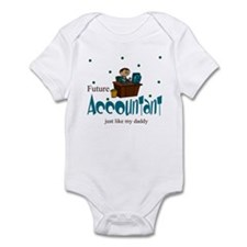 Future Accountant Like Daddy Baby Infant Bodysuit