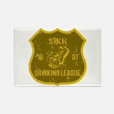 Sikh Drinking League Rectangle Magnet