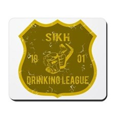 Sikh Drinking League Mousepad