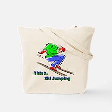 Extreme Skiing Tote Bag