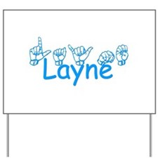 Layne-bl Yard Sign