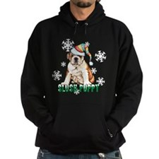 Holiday Bulldog Hoody
