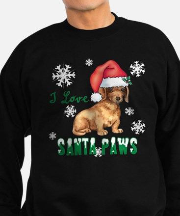 Holiday Dachshund Sweatshirt (dark)