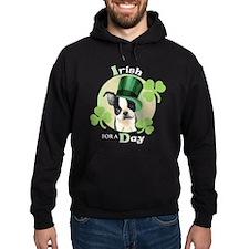 St. Patrick Boston Terrier Hoodie