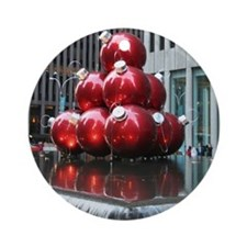 Red balls Christmas ornament