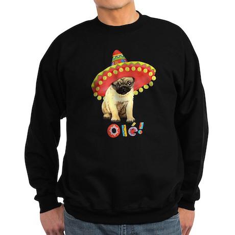Fiesta Pug Sweatshirt (dark)