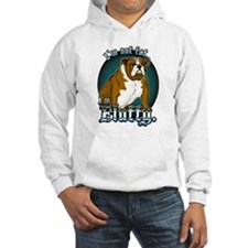 Loveable Bulldog Fluffy Hoodie