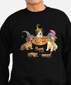 Halloween Puppies Sweatshirt (dark)