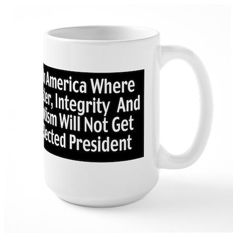 Character & Integrity Large Mug