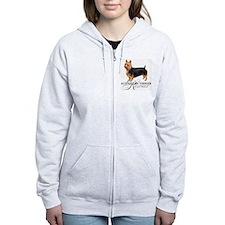 Australian Terrier Rescue Zip Hoodie