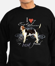 English Foxhound Sweatshirt (dark)