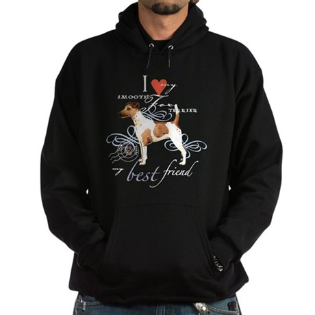 Smooth Fox Terrier Hoodie (dark)