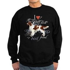 Irish Red & White Setter Sweatshirt