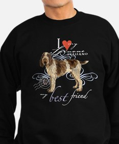 Spinone Italiano Sweatshirt (dark)