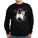 Westie dog Sweatshirt (dark)