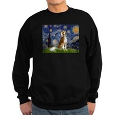 Starry Night & Saluki Sweatshirt