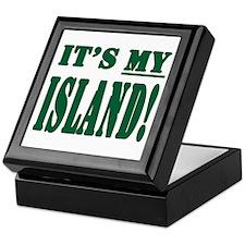 It's My Island Keepsake Box