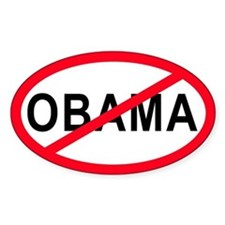 Anti-Obama Oval Bumper Stickers