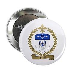 PRIEUR Family Crest Button