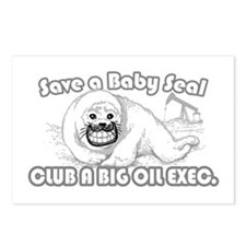 Club A Big Oil Exec. Postcards (Package of 8)