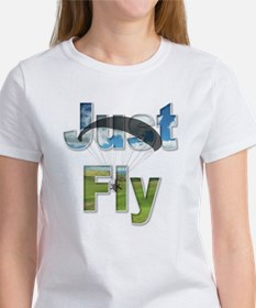 Just Fly Powered Paragliding Tee