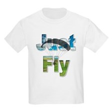 Just Fly Powered Paragliding T-Shirt