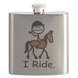 Stick figure horse Flask Bottles