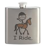 Stick figure horse Flasks