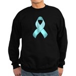 Light Blue Awareness Ribbon Sweatshirt (dark)
