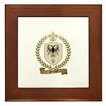PREVOST Family Crest Framed Tile