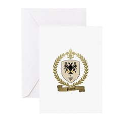 PREVOST Family Crest Greeting Cards (Pk of 10)