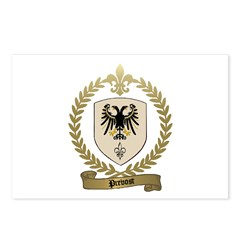 PREVOST Family Crest Postcards (Package of 8)