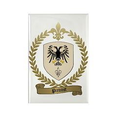 PREVOST Family Crest Rectangle Magnet