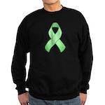 Light Green Awareness Ribbon Sweatshirt (dark)