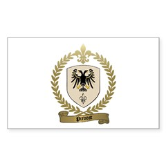 PREVOST Family Crest Rectangle Sticker