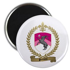 """PRETIEUX Family Crest 2.25"""" Magnet (100 pack)"""