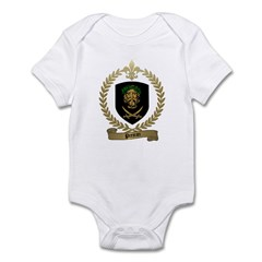 PREJEAN Family Crest Infant Creeper