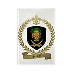 PREJEAN Family Crest Rectangle Magnet (100 pack)