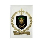 PREJEAN Family Crest Rectangle Magnet (10 pack)