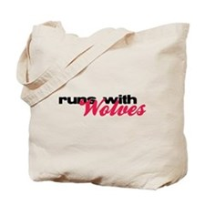 Runs With Wolves Tote Bag