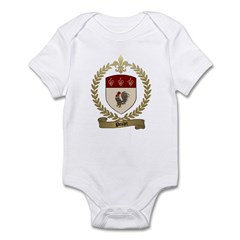 POULET Family Crest Infant Creeper