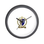 POTHIER Family Crest Wall Clock
