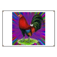 Colorful Gamecock Banner