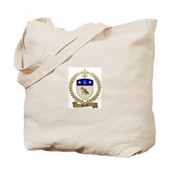 PORLIER Family Crest Tote Bag