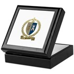 POITIERS Family Crest Keepsake Box