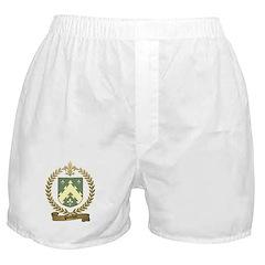 POITEVIN Family Crest Boxer Shorts
